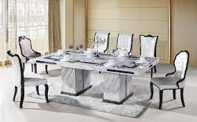 Dining Table Sets Vanity Modern Dining Table Set At Lovable Rectangle Marble