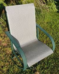 replacement slings for winston patio chairs patio sling fabric replacement fp 019 plata phifertex wicker