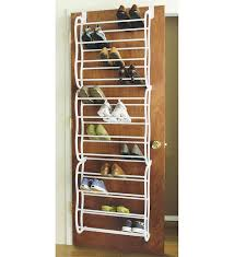 behind door shoe storage door mounted shoe rack home design ideas