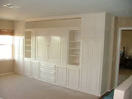 White Wardrobe Cabinet Wall Units Glamorous Wall Unit Closet Built In Entertainment