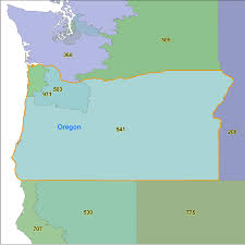 Area Code Map Florida by Oregon Area Code Maps Oregon Telephone Area Code Maps Free