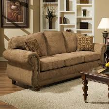 traditional sofa traditional sofa with with nail head trim 6000 by american