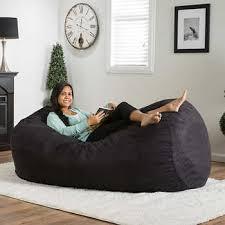emma 6 5ft bean bag black bed room pinterest bean bags
