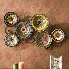 tuscan plates metal wall decor