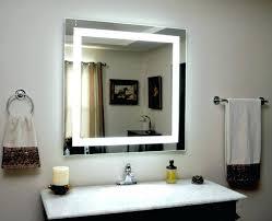 illuminated bathroom mirror cabinet demister scifihits com