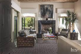 Define Sitting Room - mediterranean influences define a dallas house luxe interiors