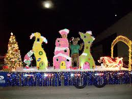 grinch stole parade float search work