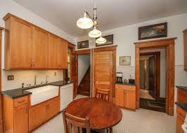 kitchen rock island there s some pretty woodwork inside this illinois home