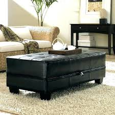 large round leather ottoman large leather ottoman coffee table sophisticated large black ottoman