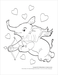 elephant love coloring page elephant love new coloring page
