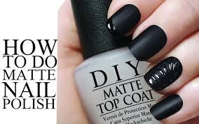 diy matte nail polish youtube