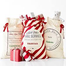 santa sacks cfp b141 stocked monogrammed bag canvas santa sack buy canvas
