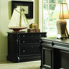 black lateral file cabinet seldens home furnishings hooker furniture telluride 2 drawer black