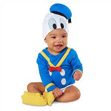 Halloween Costumes 18 Months Boy Disney Store Donald Duck Feet Baby Costume Shoes Slippers Boys Girls
