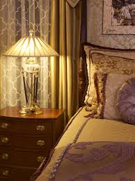 Bedroom Lighting by Crystal Table Lamps