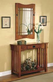 entrance table and mirror console table with mirror co 060 hallway
