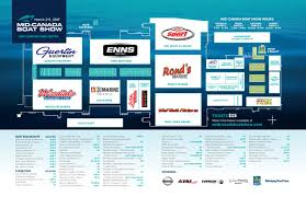 list of exhibitors mid canada boat show