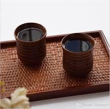 Handmade Tea Cups - new handmade wooden japanese tea mugs kung fu tea cup teaware