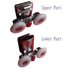 Replacement Shower Door Runners Zinc Alloy Shower Door Rollers Runners Diameter 20mm 23mm 25mm