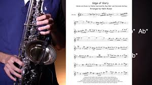 how to play edge of glory solo youtube