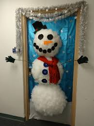 snowman door decorations christmas door decorating ideas happy holidays