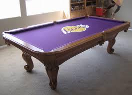 purple felt pool table balboa medium oak pool table so cal pool tables