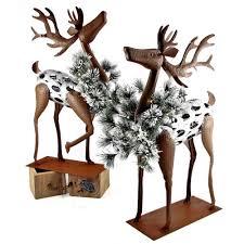 christmas deer zaer ltd international 26 in christmas reindeer with christmas