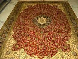 Kashmir Silk Rugs Hand Knotted Silk Rugs And Carpets By Global Floor Furnishers