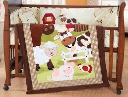 Farm Crib Bedding Baby Products 100 Cotton Baby Crib Happy Farm Bedding Set Infant