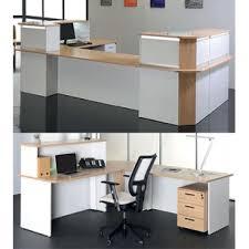 rehausse bureau bureau d accueil confort angle 90 avec rehausse 80x80 cm direct