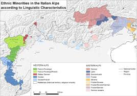 Alps On World Map by The Impact Of Current Demographic Transformation On Ethno