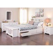 White Queen Platform Bed With Storage Winslow White Queen Platform Storage Bed Free Shipping Today