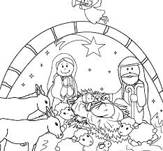 printable coloring pages nativity scenes nativity scene coloring page free printable coloring pages nativity