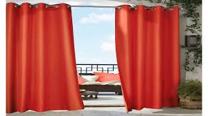 White Outdoor Curtain Panels Outdoor Decor Gazebo Grommet Outdoor Curtain Panel White 50 Wide