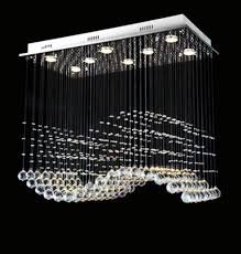 Chandeliers Modern Modern Rectangular Linear Chandelier Pendant Lighting