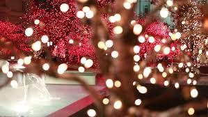 christmas lights at beautiful temple square in salt lake city utah