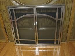 majestic vermont casting dv580 in pewter or gold arch door screen