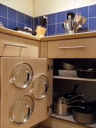 Cabinet Storage Ideas Best 25 Pot Lid Storage Ideas On Pinterest Storing Pot Lids