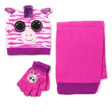 beanie boo hat glove scarf zazzy toys