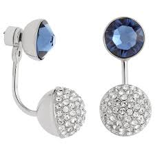 earring pierced swarovski forward pierced earring jackets 5250941 swarovski
