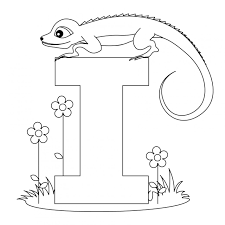 Letter I Coloring Page Many Interesting Cliparts I Coloring Sheets