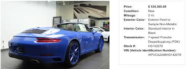 custom porsche 2017 custom ordering a 991 u0027porsche exclusive u0027 and you page 86