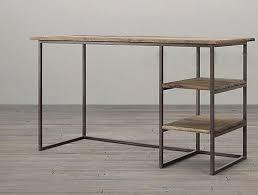 bureau fer forgé bureau ordinateur portable tables forgé bois de fer petit bureau