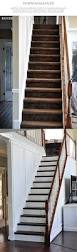 Beautiful Stairs by Remodelaholic White Kitchen Makeover Small Updates To Make A