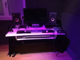 Home Studio Desk by Rocco Ventrella U0027s Great Setup With Beat Desk Our Customers Pics