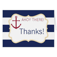 nautical thank you cards unique design nautical baby shower thank you cards extravagant
