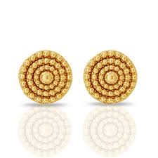 gold earrings for women images buy gold earring gold earring price in india