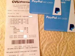 cvs prepaid cards paypal my cards with credit cards at cvs still working but