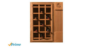 Walnut Wine Cabinet Amazon Com Omega National Sonoma Series Cabinet Mount Wine