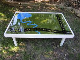 diy folding train table id mommy id mommy projects make your own train table